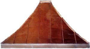 Traditional Concave Curve Standing Seam Awning
