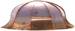 Bell Shaped Copper Bay, Bow, & Bow Window Roof