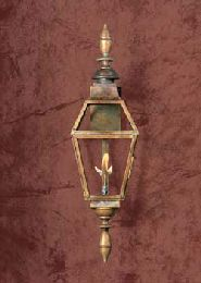 Old World Copper Gas Light