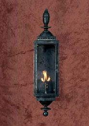 New Orleans Style Copper Gas Light