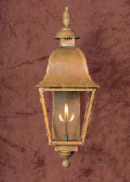 Beautiful Bell Style Copper Gas Light