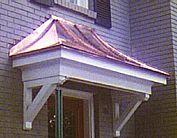 Copper Sweep Roof Section for Existing Structures
