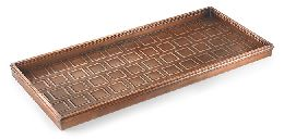 Beautiful Copper and Bronze Boot Tray