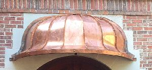 Classic European Arched Bell Awning