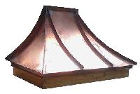 Handcrafted Georgian Style Copper Awning