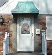 Copper Awnings for Homes