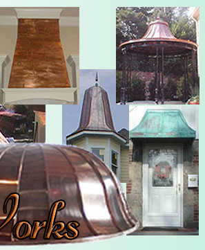 Classic Copper Works Bay Window Roofs
