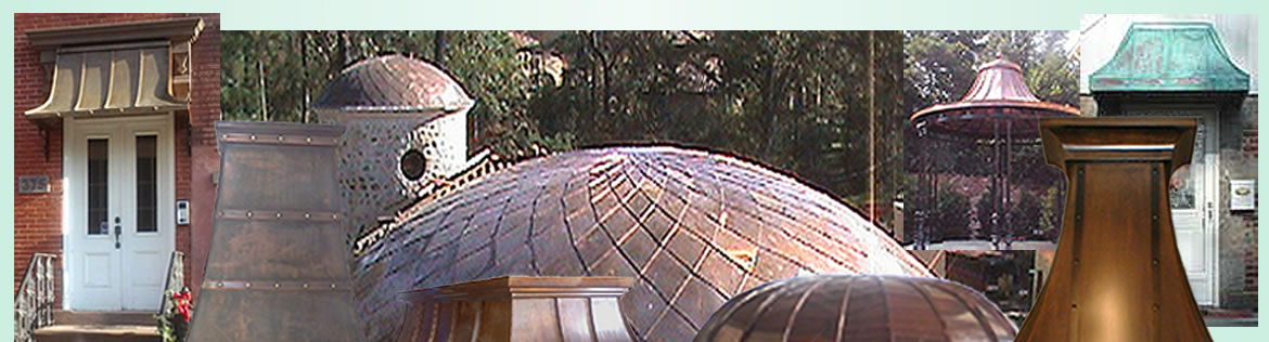 Copper Awnings