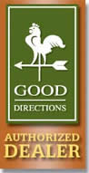 Classic Copper Works is a Good Directions Authorized Dealer.